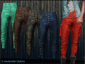 Sims 3 — MaleFashionSet5_Pants by Shojoangel — Hi...2 recolorable options...big thanks on Meronin