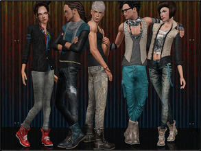 Sims 3 — ShoesSet4_Male--Female by Shojoangel — Hi...fashionable and trendy boots for your sims...recolorable...thanks on