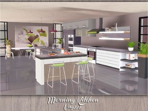 Ung999 39 s sims 3 kitchen sets for Sims 3 kitchen ideas