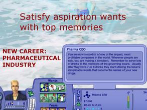 Sims 2 Downloads - 'career'