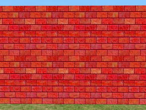 Sims 2 — Bright Skybrick Set - flame by zaligelover2 — Bright bricks to create your walls.