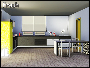Sims 3 — stefforfrauh by steffor — A modern kitchen with several decorative objects