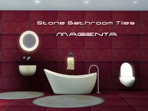 Sims 3 — Stone Bath Tile III by thethomas04 — Stone Bath Tile III Textured Stone Tiles have amazing texture for a