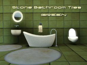 Sims 3 — Stone Bath Style IV by thethomas04 — Stone Bath Style IV Textured Stone Tiles have amazing texture for a