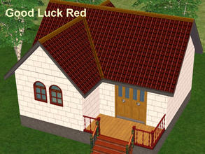 Sims 2 — A Set of 4 Two-Tone Roofs - 1 by eliseluong2 — Four beautiful two-tone roofs for beautiful houses. These are