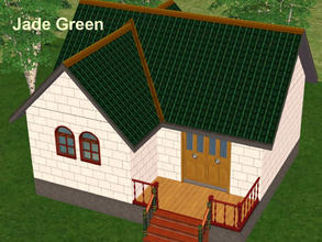 Sims 2 — A Set of 4 Two-Tone Roofs - 3 by eliseluong2 — Four beautiful two-tone roofs for beautiful houses. These are