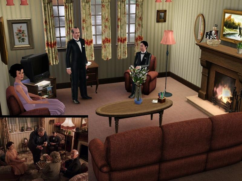 Dursleys Living Room