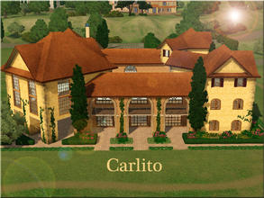 Sims 3 — Carlito by Demented_Designs — A luxurious Tuscan style family Villa with 5 bedrooms, and 3 bathrooms, set on the