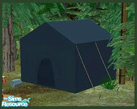 how to buy a tent in sims 3