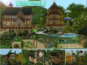 Sims 3 — Fairy Magick by Demented_Designs — A magical treehouse dwelling for all your fairy folk needs, features 3