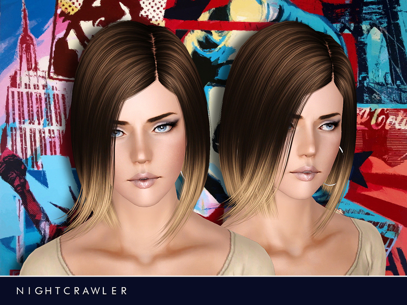 Nightcrawler Afhair01sims3pack Fryzury The Sims 3