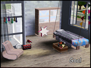 Sims 3 — stefforgoal by steffor — my first bedroom for the little ones