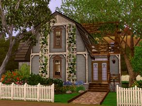 Sims 3 — Desjardins by lilliebou — This house is for a family of about 3-4 Sims. First floor: -Kitchen -Dining room