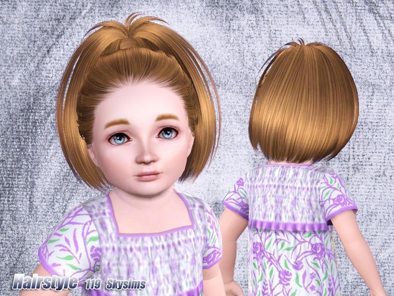 coiffure bambin sims 3