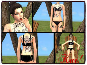 Sims 2 — Kat Andrews- Warped Tour! by delaneyjo — This is Kat. She loves, love concerts, especially Warped Tour! She
