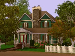 Sims 3 — Vivace by lilliebou — This house is for a family of about 4 to 5 sims. First floor: -Kitchen -Dining room