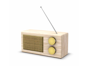 Sims 3 — Finnick Radio by sim_man123 — An old-fashioned radio, part of my Finnick Dining Room. Made by sim_man123 from