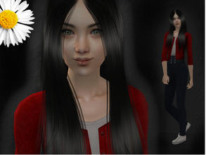 Sims 2 — Polina by LovelyDaisies2 — ALL custom content is included in the download. I recommend using Sims 2 Clean