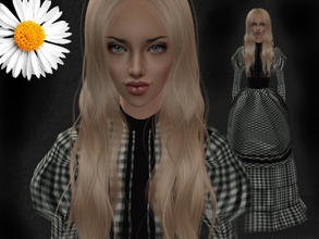 Sims 2 — Leslie by LovelyDaisies2 — ALL custom content is included in the download. I recommend using Sims 2 Clean