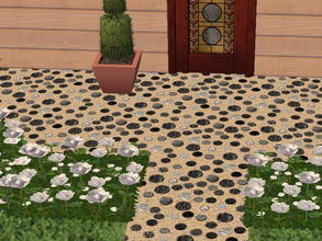 Sims 2 — Pebbled Floors - Gray by zaligelover2 — Pebbled flooring.