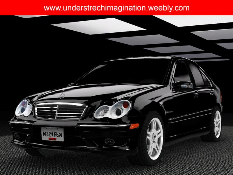 understrech imagination 39 s 2004 mercedes benz c32 amg. Black Bedroom Furniture Sets. Home Design Ideas