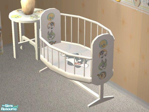 Lym S Looney Tunes Nursery Crib