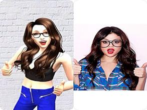Sims 2 — Selena Gomez by jaelynissweomseee2 — AF Selena Gomez now for your game! She\'s flawless. Absolutely perfect.