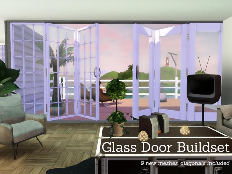 Angela S Glass Door Buildset