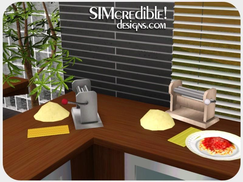 simcredible 39 s funny kitchen time to pasta and pizza. Black Bedroom Furniture Sets. Home Design Ideas