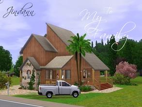 Sims 3 — To My Family by Jindann — It's a classic house and the smallest lot in Sunset Valley because only 20 x 30 in