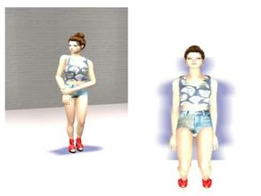 Sims 2 — CianaReneyh by jaelynissweomseee2 — Adult female for your sims. I will take requests!