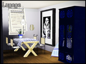 Sims 3 — stefforlugage by steffor — a cosy diningroom