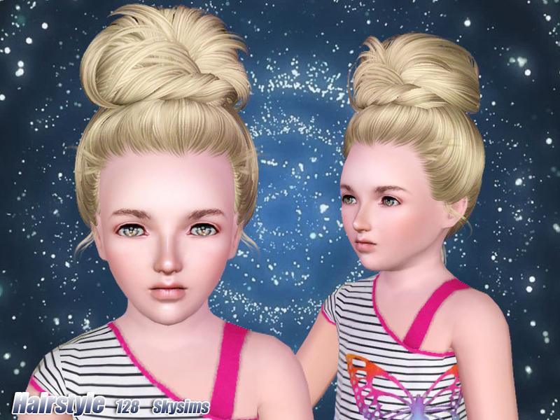 Skysims Hair 128