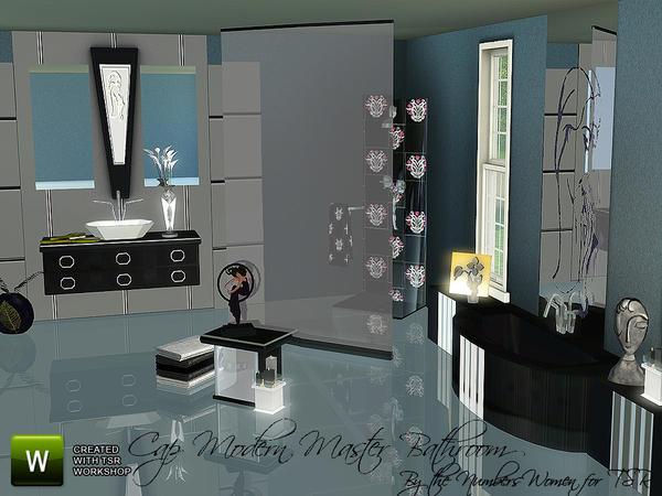 thenumberswoman 39 s cap modern bathroom
