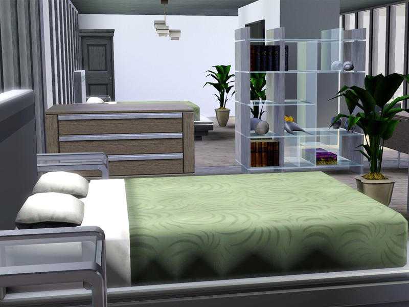 Livings Room For Sims