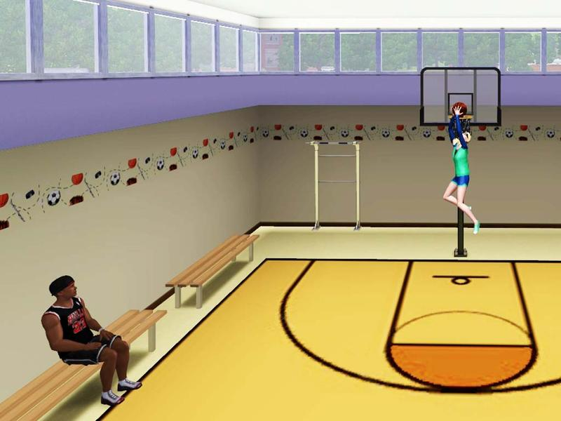 Wimmie's Basketball Court The Sims Resource