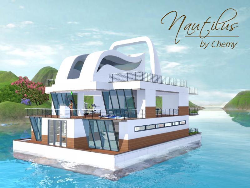 chemys Nautilus Modern House Boat
