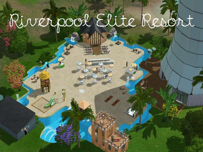 Deathberrysims 39 riverpool elite resort for Pool design sims 3