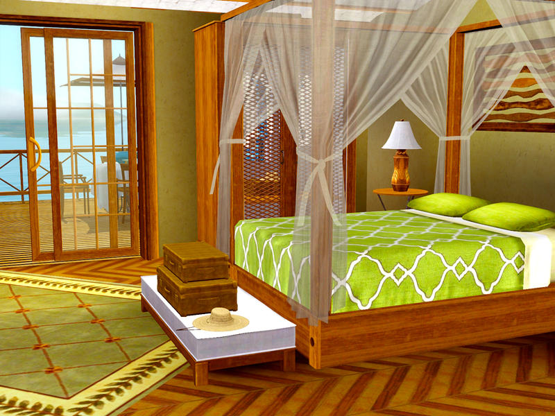 shinokcr's caribbean bedroom
