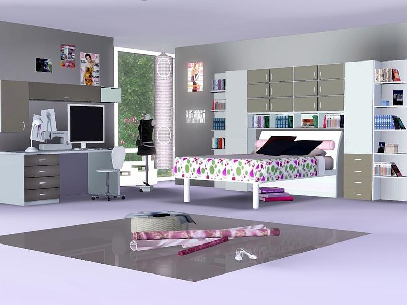 Flovvs White Cream Teen Room