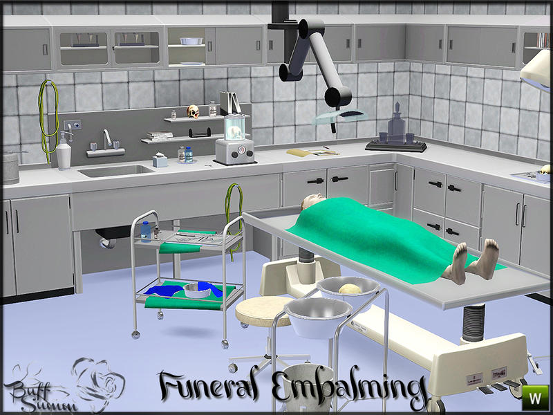 Buffsumm 39 s embalming room pt 1 request Embalming room design