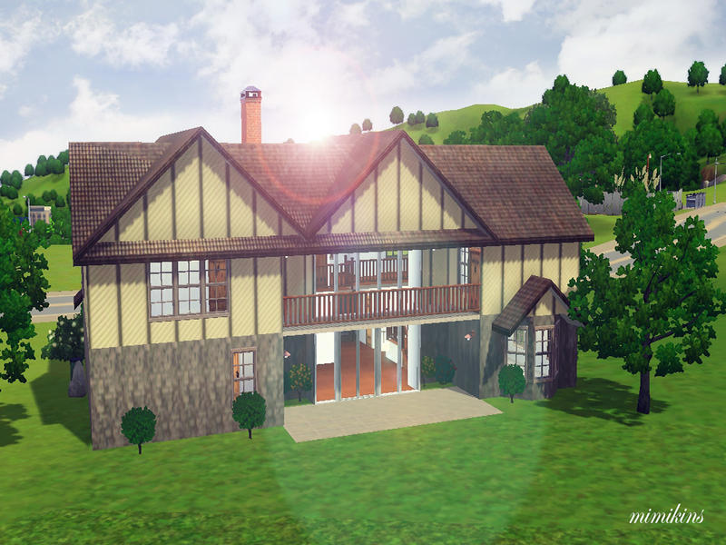 mimikins470995 s henry modern tudor home tudor style home with a modern makeover traditional home