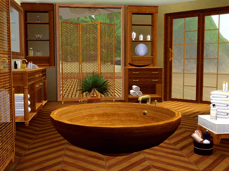 Pool House Bathroom Design Also Beach Themed Bathroom Decorating Ideas