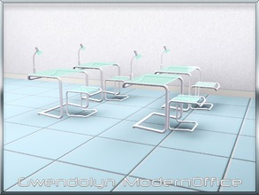 Sims 3 — Gwendolyn ModernOffice 3 items by Gvendolin2 — Environmentally friendly furniture for the modern office. The