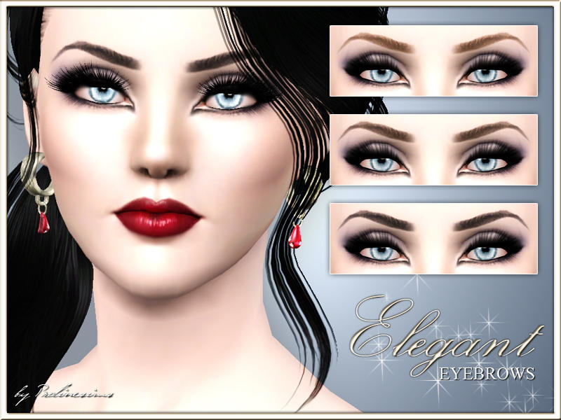 eyebrows download sims 3