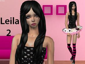 Sims 2 — Leila 2 by staceylynmay2 — Leila is the teen version to my adult sim Leila. Hope you enjoy her. She comes with