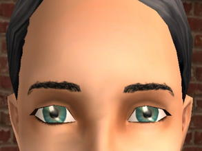 Sims 2 — Meyebrows - Black by zaligelover2 — Eyebrows.