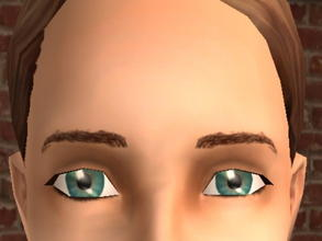 Sims 2 — Meyebrows - Brown by zaligelover2 — Eyebrows.