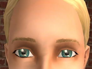 Sims 2 — Meyebrows - Blonde by zaligelover2 — Eyebrows.