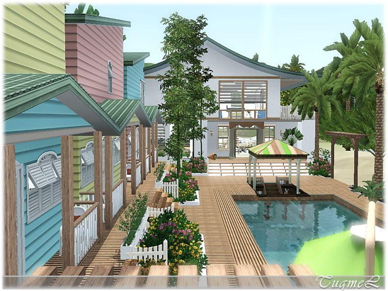 Tugmel 39 s beach resort 01 full furnished for Beach house 3 free download